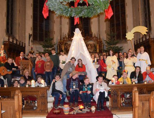 Die Heimstatt feiert Weihnachten